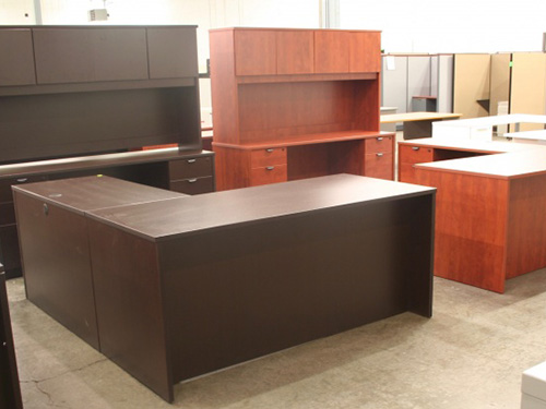 Devon LDesk Credenza Hutch Set Capital Choice Office Furniture Unique Capital Choice Office Furniture Collection
