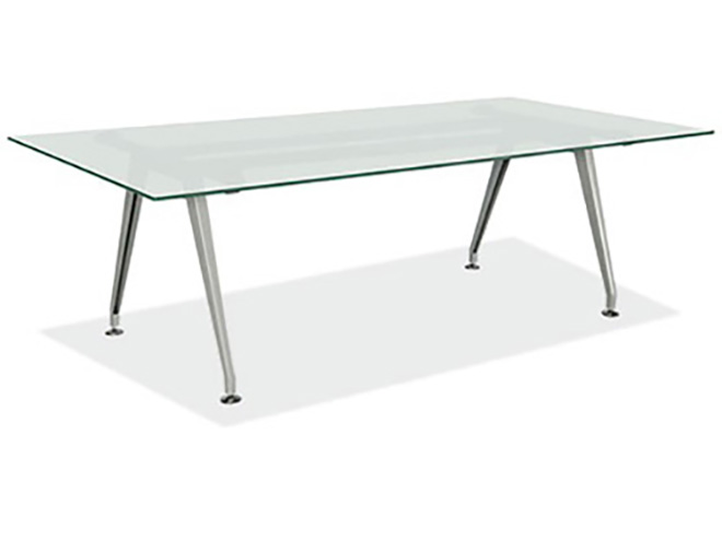 FT Glass Conference Table Capital Choice Office Furniture - 6ft conference table