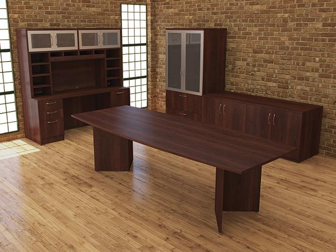 Foot Boat Shape Conference Table Capital Choice Office Furniture - 8 foot office table