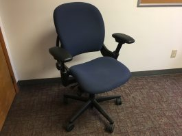 Steelcase Leap Blue
