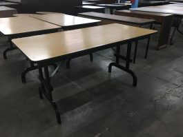 Oak Training Table