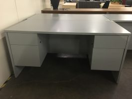 Laminate Gray Desk