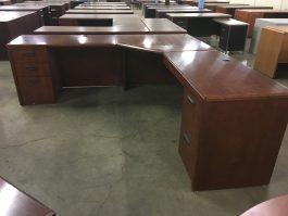 Cherry L-Desk