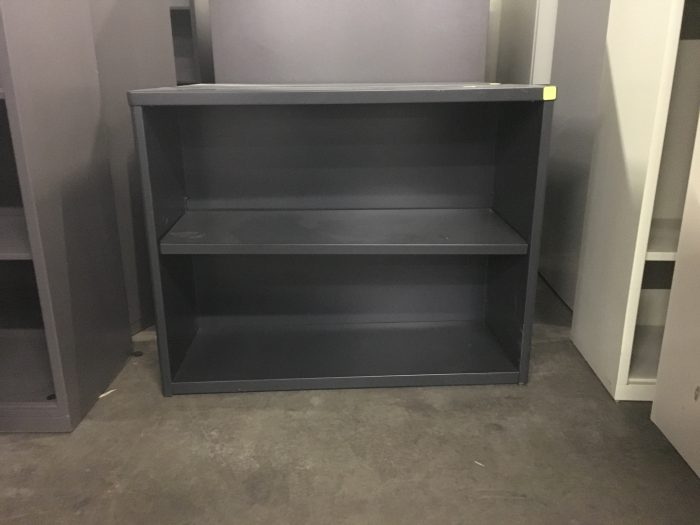 Black Metal Bookcase