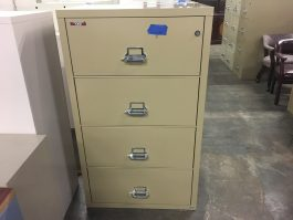 FireKing 4-Drawer