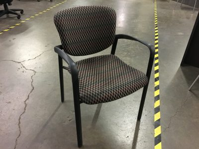 Patterned Guest Chair