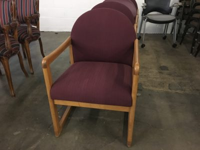 Wood Frame Guest Chair
