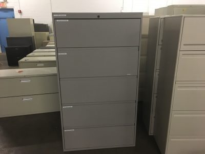 Metal 5 Drawer Lateral
