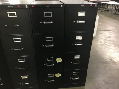 HON Vertical File Cabinet