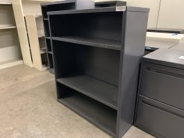 Black 3-Shelf Bookcase