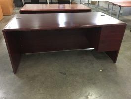 Hon Mahogany Desk