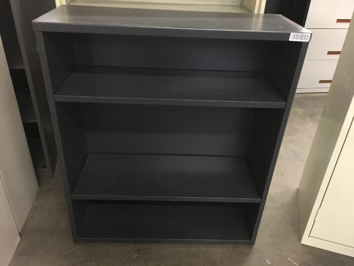 Black 3-Shelf Bookcase