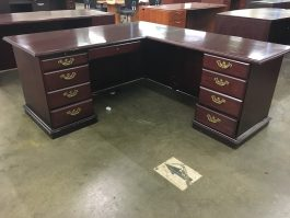 Indiana Arlington L-Shaped Desk