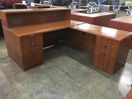 Indiana Reception Desk