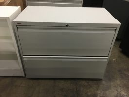 Used 2-Drawer Lateral File Cabinet