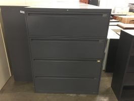 Used 4-Drawer Lateral File Cabinet