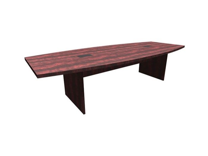 10' Boat Shaped Conference Table