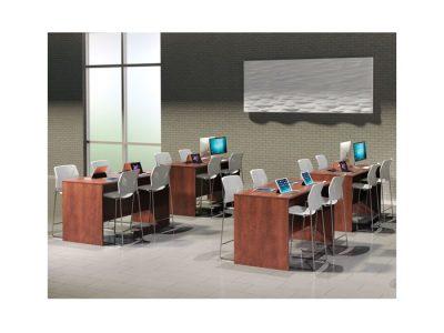 Tall Desk Units