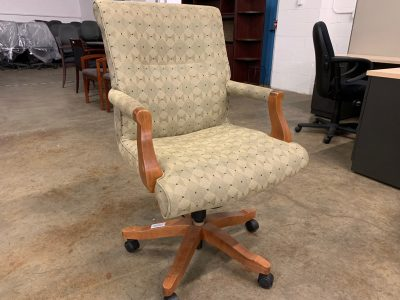 Wood Frame Conference Chairs