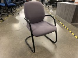 Steelcase Sonata Guest Chair in Purple Fabric