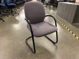 Steelcase Sonata Guest Chair in Purple Fabric