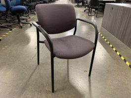 SitOnIt Freelance Stacker Chair in Purple Fabric