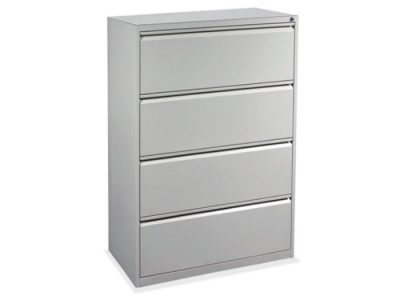 4 Drawer Lateral in Gray