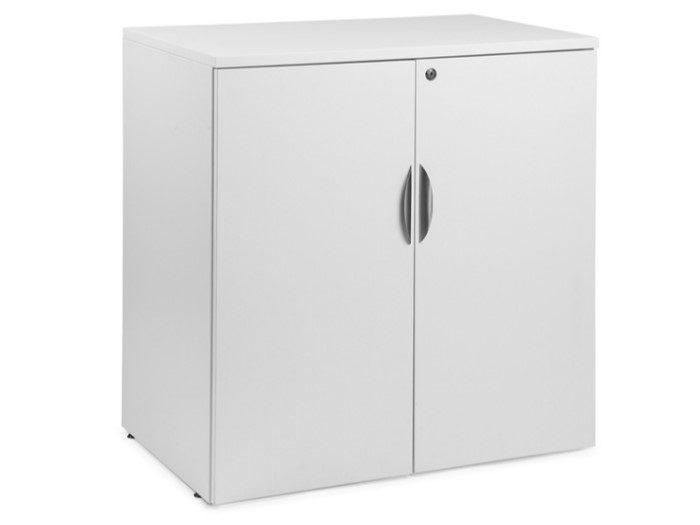 Laminate 2-Shelf Storage Cabinet