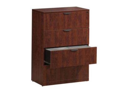 Laminate 4-Drawer Lateral