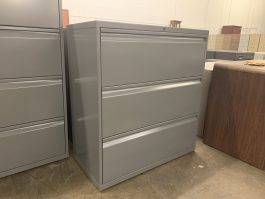 Knoll 3-Drawer Lateral File Cabinet
