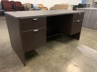 Espresso Single Desk