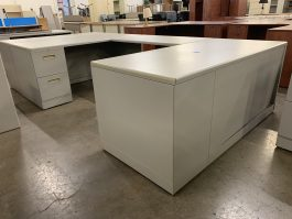 Knoll Metal U-Desk
