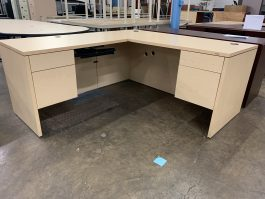 HON Maple L-Desk
