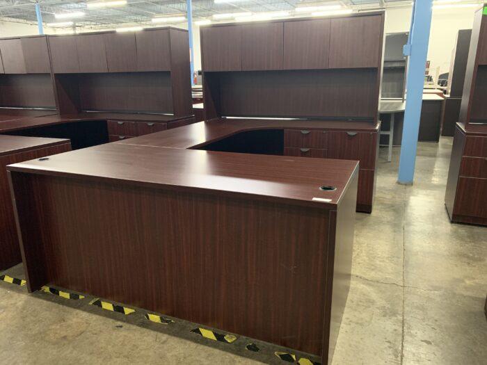 Mahogany U Desk