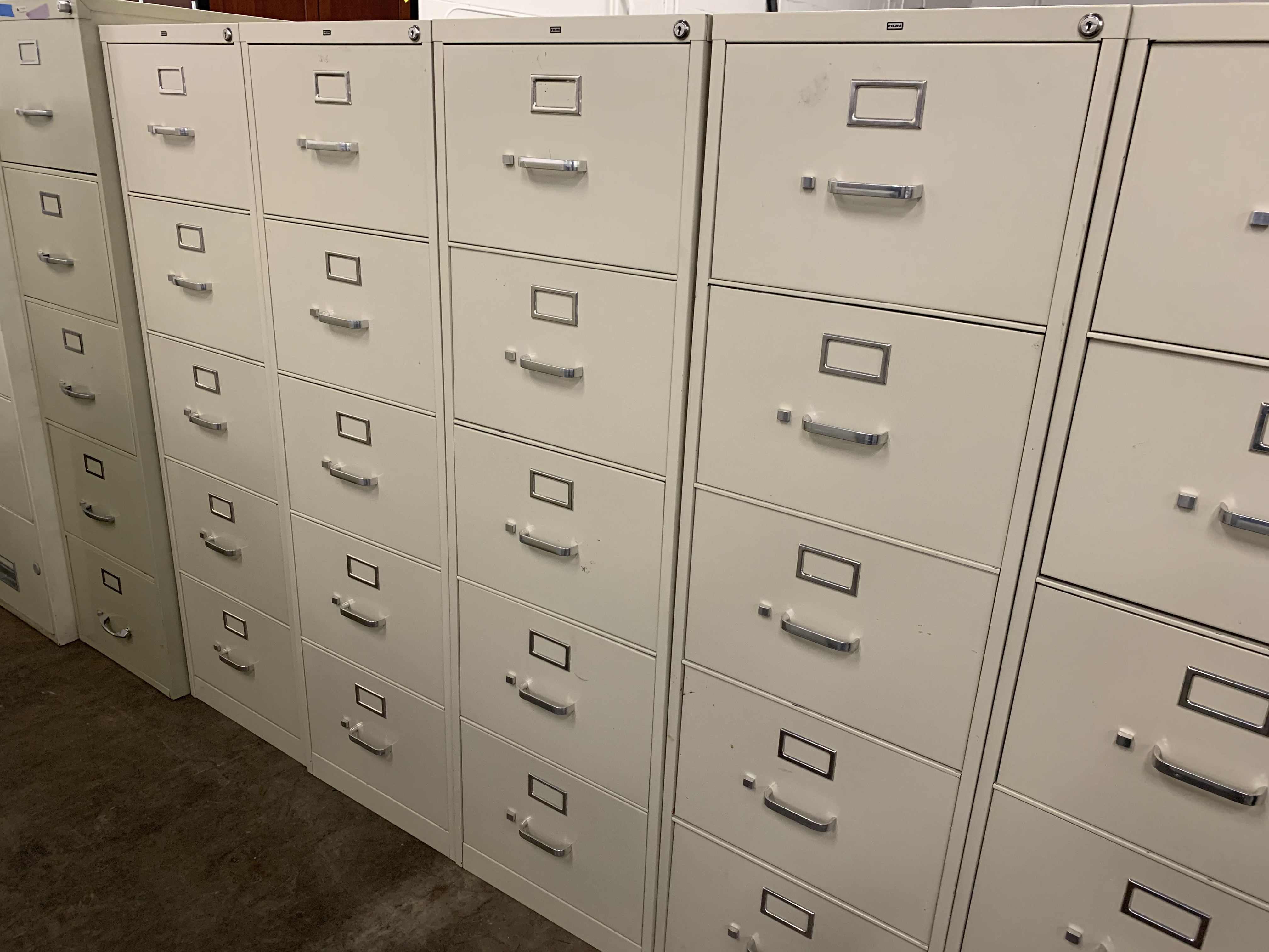 Image of: Hon 5 Drawer Vertical Capital Choice Office Furniture