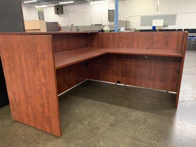 Cherry Reception Desk