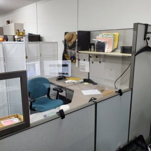 Cubicle Mounted Divider