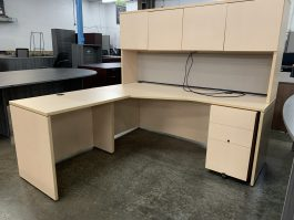 Lacasse Maple L Desk