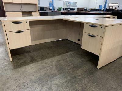 Maple L Desk