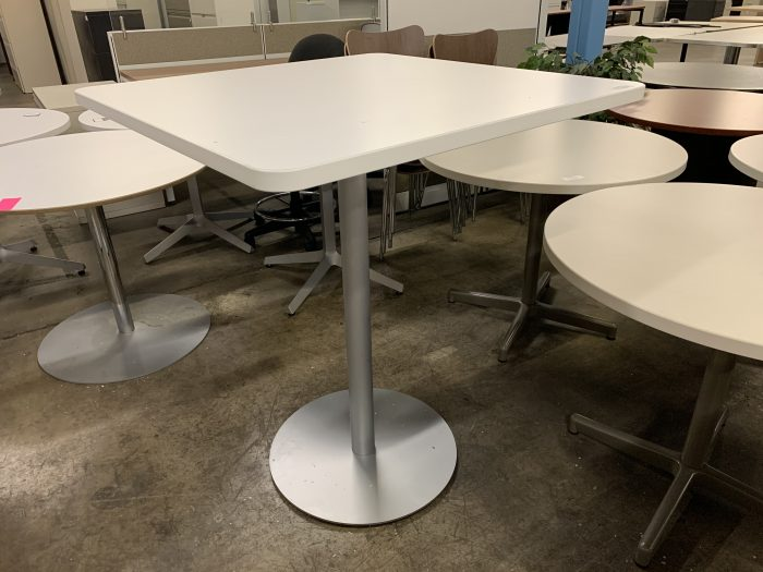 White Hightop Table