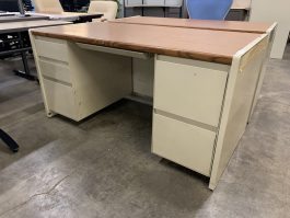 Steelcase Double Pedestal Desk