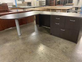 Indiana Espresso L Desk
