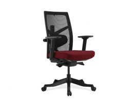 OfficeSource Corpo Chair - Maroon