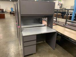 Steelcase Metal Desk