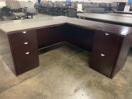 Veneer Straight Desk