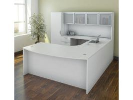 U Desk Typical OS4 White