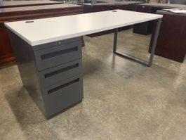 White Top Desk